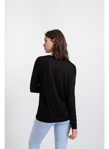 Rue Tişört Siyah